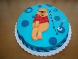 Narozeninový dort medvídek Pú recept