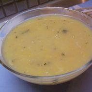 Hrášková polévka s vejcem recept