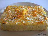 Jablečno-pomerančové jáhlové řezy recept
