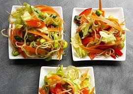 Salát z naklíčené sóji recept