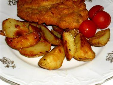 Pečené brambory s kořením 2