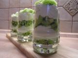 Kiwi pohár s tvarohem recept
