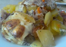 Zapékané brambory s pangasem a čínskou zeleninou recept ...