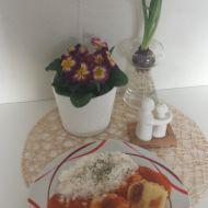 Vegetariánské plněné papriky k rajské omáčce s rýží recept