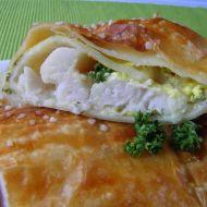 Rybí filety v listovém těstě recept