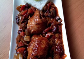 Ohnivé kuře recept