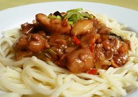 Čína  Sečuán  recept