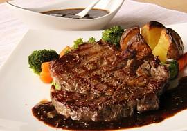 Steak s kávovou omáčkou ( Red  eye barbecue) recept ...