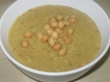 Hrachová polévka s koriandrem recept