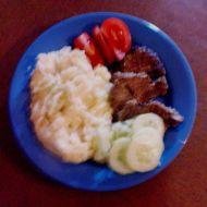 Steaky z divočáka na česneku recept