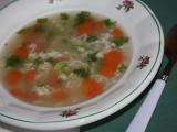 Rýžová polévka pro začátečníky recept
