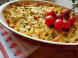 Gratinované těstoviny recept