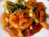 Rybí filé v zelenině recept