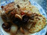 Lehce pikantní kuře na švestkách recept