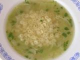 Zelná polévka s těstovinou recept
