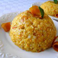 Rýžový dezert s dýní a sirupem recept