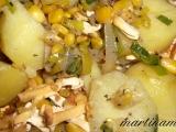 Zapékané brambory s uzeným tofu a zeleninou recept