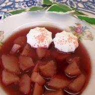 Hrušková polévka recept