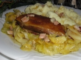 Divoká kachna s kapustou recept