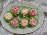 Muffiny s růží recept