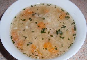 Krupičkové nočky do polévky