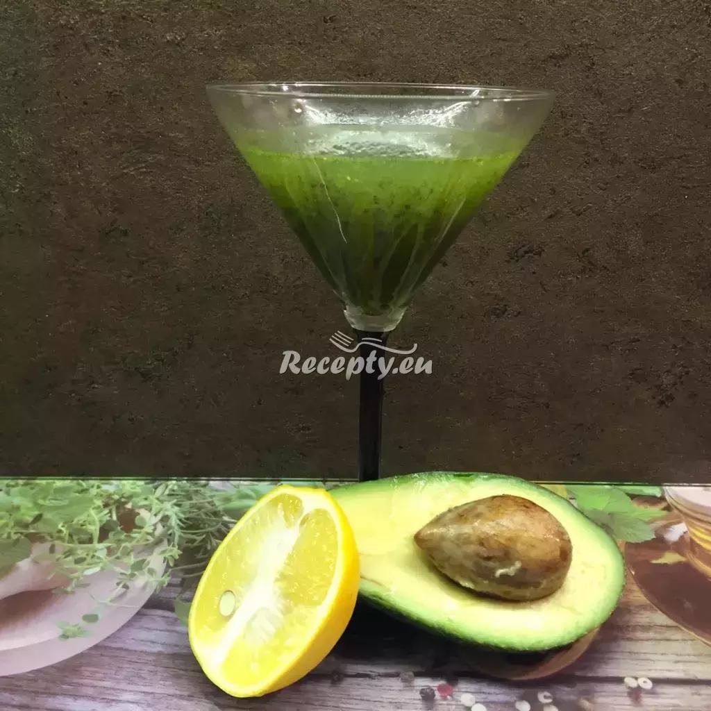 Koktejl z papáji a avokáda recept  ovocné pokrmy