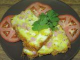Sýrovo-šunkový biskupský chlebíček recept