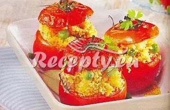 Rajčata naplněná kuskusem recept  zeleninové pokrmy