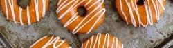 Broskvové koblihy z podmáslí