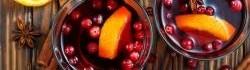 Jablečný mošt s brusinkami
