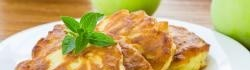 Lívance s jablky