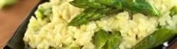 Zelené chřestové rizoto