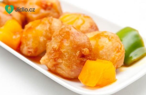 Recept Čínské kuřecí kuličky