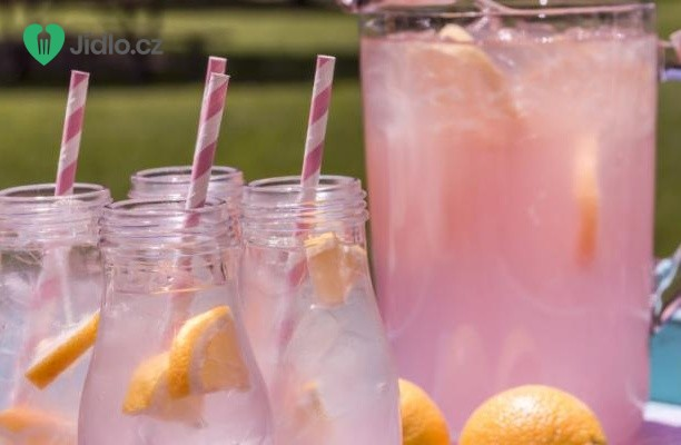 Čerstvá růžová limonáda recept