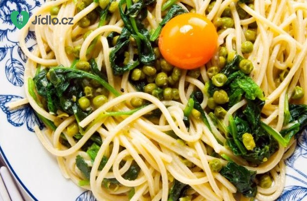 Špagety carbonara s kapustou recept