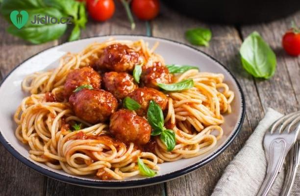 Špagety s masovými kuličkami recept