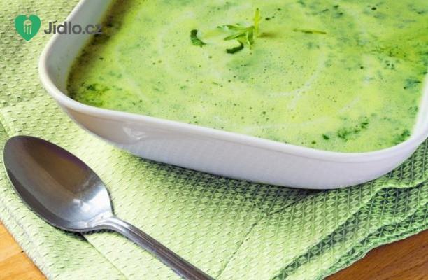 Recept Špenátová polévka se smetanou