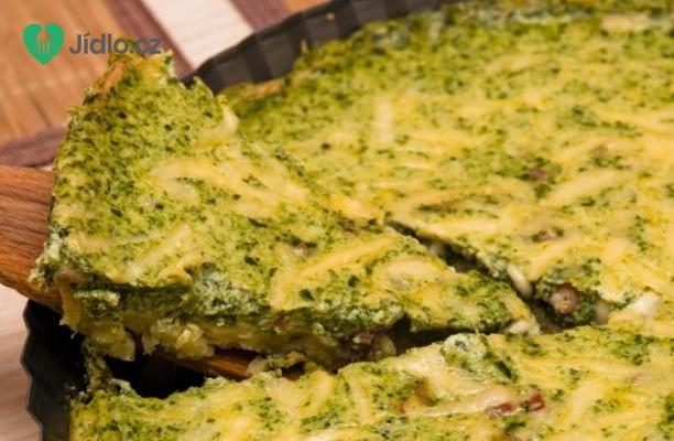 Recept Špenátový quiche (kiš)