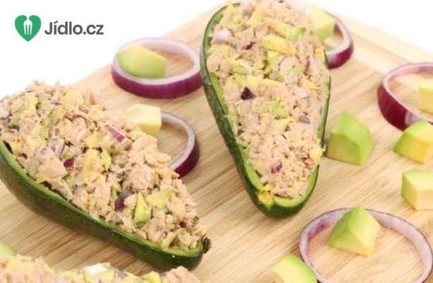 Avokádo s tuňákem recept