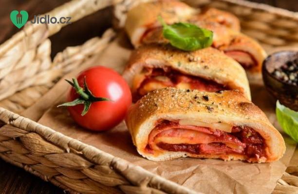 Recept Benátská rolovaná pizza