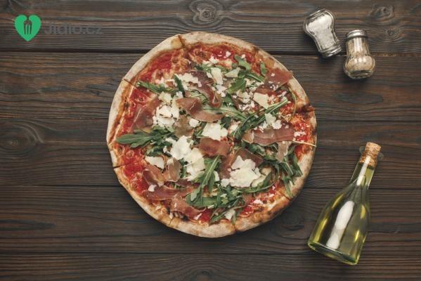 Bezlepková šunková pizza recept
