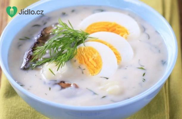 Bramborová polévka s vejci (kulajda) recept