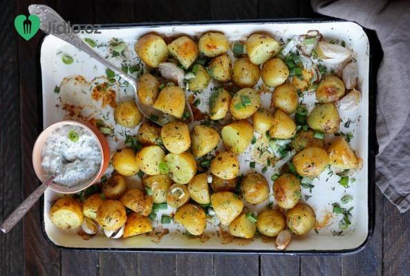 Brambory pečené v popelu recept