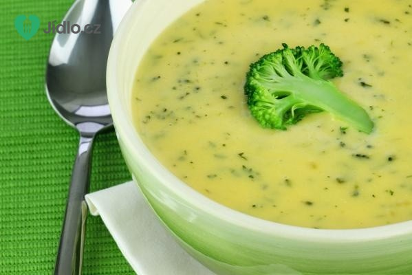 Brokolicová polévka krémové konzistence recept