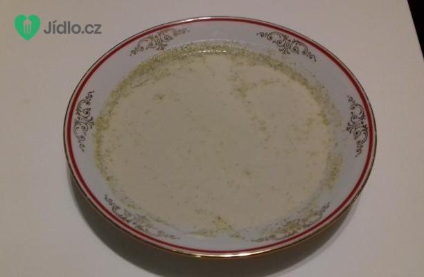 Brokolicová polévka se smetanou a chlebovými krutonky recept