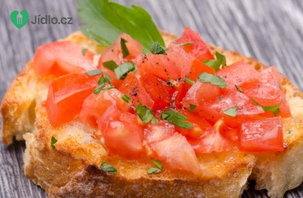 Bruschetta s rajčaty recept