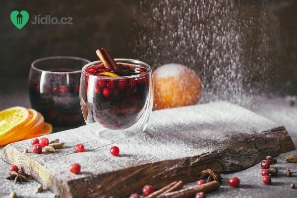 Brusinkový punč recept