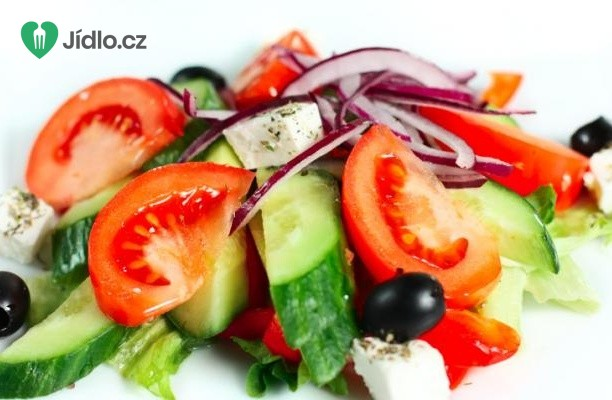 Bulharský salát se  sýrem feta recept
