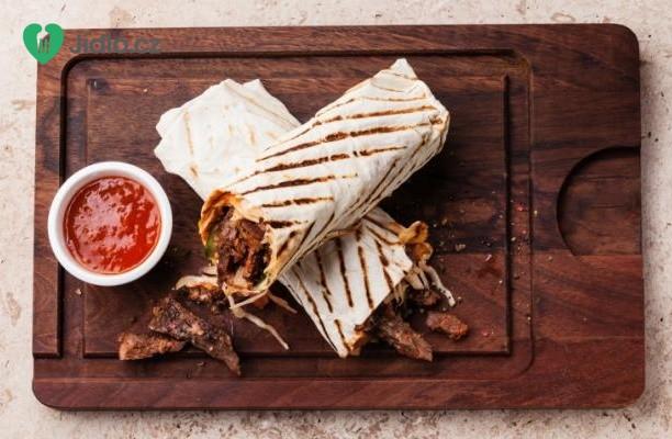 Burrito na korejský způsob recept