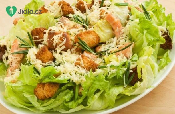 Recept Caesar salát s Ančovičkami